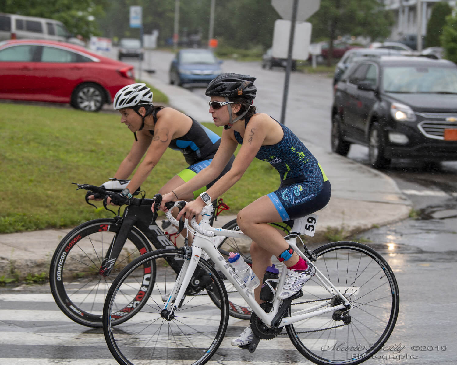 Cycliste triathlon Saguenay